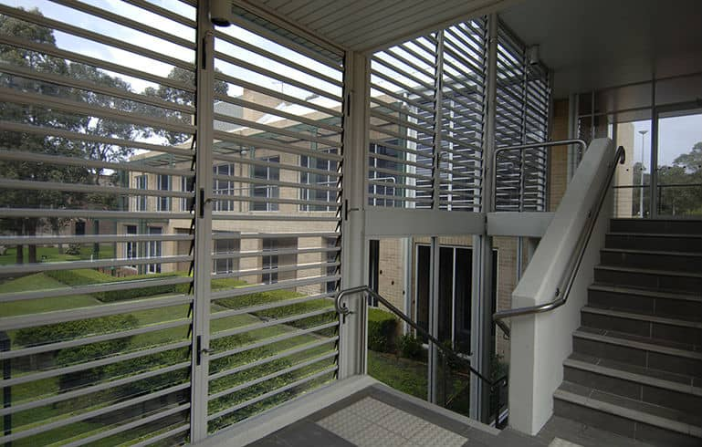 sydney aluminium louvre windows installed by cvdglass