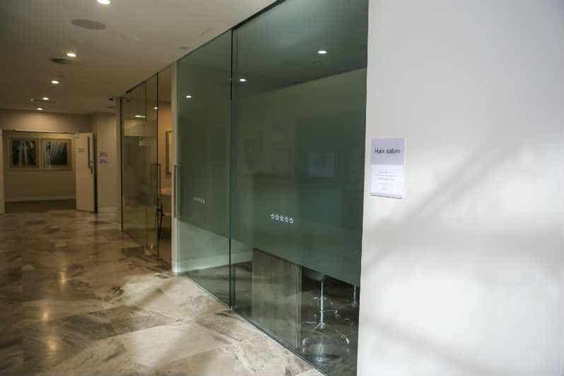 cvdglass installed this office glass aluminium sliding door