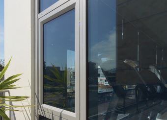 cvdglass installed awning windows in a high rise building sydney